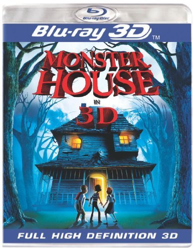 Monster House 3d Monster House 3d Ws Blu Ray 3dtv Pg Incl. 3d Glasses