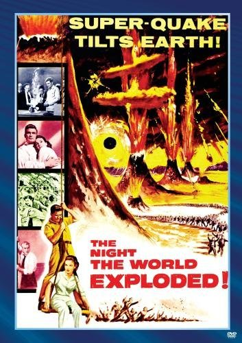 Night The World Exploded Evans Greenleaf Reed Bw DVD R Nr