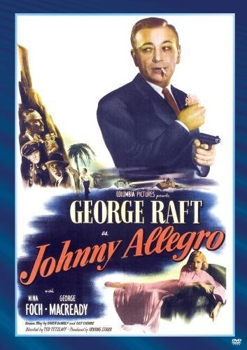 Johnny Allegro Foch Henry Raft Bw DVD R Nr