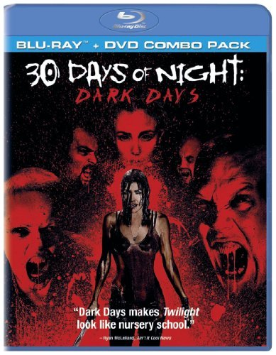 30 Days Of Night Dark Days Sanchez Perrineau Kirshner Blu Ray Ws R Incl. DVD