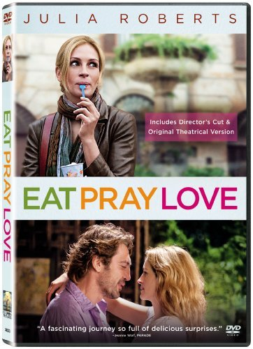 Eat Pray Love Roberts Bardem Franco DVD Pg13 Ws