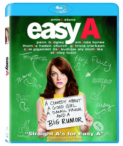 Easy A Stone Tucci Gigandet Blu Ray Ws Pg13