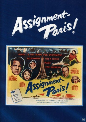 Assignment Paris Andrews Randolph Sanders Made On Demand Nr