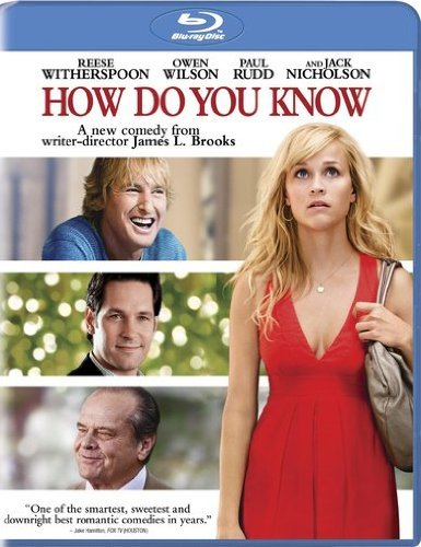 How Do You Know Witherspoon Wilson Rudd Nichol Blu Ray Ws Pg13