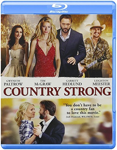 Country Strong Paltrow Mcgraw Hedlund Blu Ray Ws Pg13