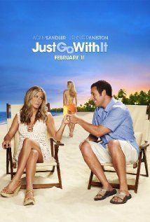 Just Go With It Sandler Aniston Decker Blu Ray Ws Pg13