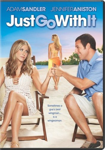 Just Go With It Sandler Aniston Decker DVD Pg13