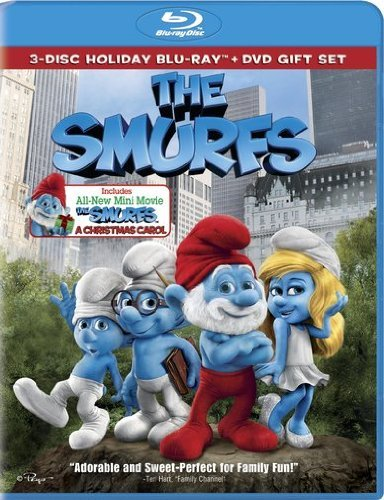 Smurfs (2011) Christmas Carol Smurfs (2011) Christmas Carol Blu Ray Ws O Ring Pg 2 Br Incl. DVD