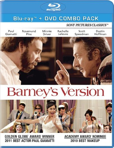 Barney's Version Biamatti Hoffman Pike Blu Ray Ws R Incl. DVD
