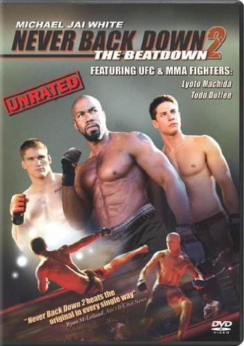 Never Back Down 2 The Beatdown White Machida Epstein Duffee DVD Ur