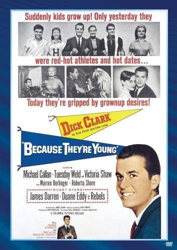 Because They're Young Clark Berlinger Shaw Bw DVD R Nr