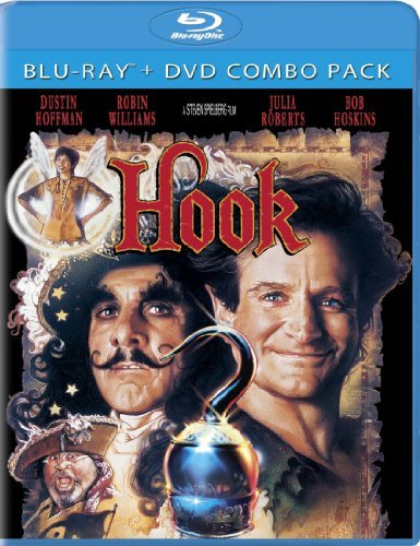 Hook Hook Blu Ray Aws Pg Incl. DVD