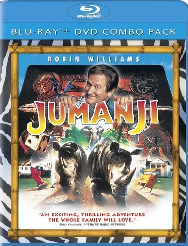 Jumanji Williams Dunst Pierce Blu Ray Ws Pg Incl. DVD