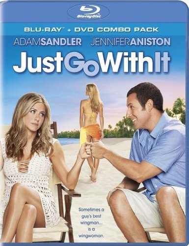 Just Go With It Sandler Aniston Decker Blu Ray Ws Pg13 Incl. DVD
