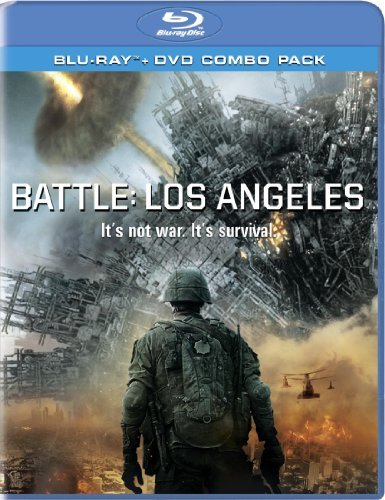 Battle Los Angeles Eckhart Rodriguez Blu Ray Ws Pg13 Incl. DVD