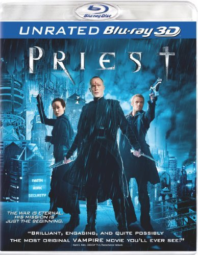 Priest 3d Bettany Gigandet Aws Blu Ray Ur