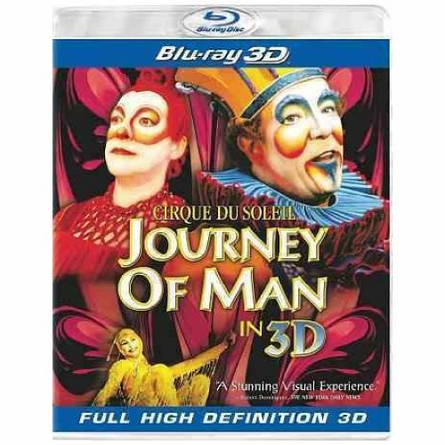Journey Of Man 3d Cirque Du Soleil Blu Ray Ws Director's Cut G 2 Br