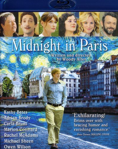 Midnight In Paris Wilson Mcadams Bates Brody Blu Ray Pg13 Ws