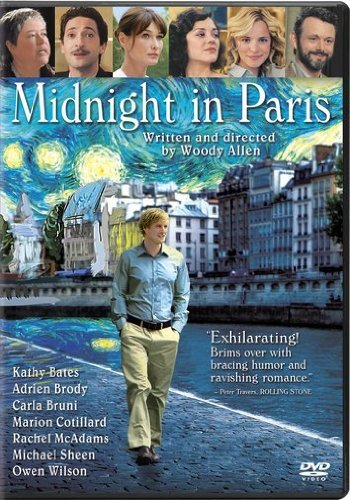 Midnight In Paris Wilson Mcadams Bates Brody DVD Pg13 Ws