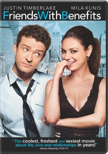 Friends With Benefits Timberlake Kunis DVD R Ws