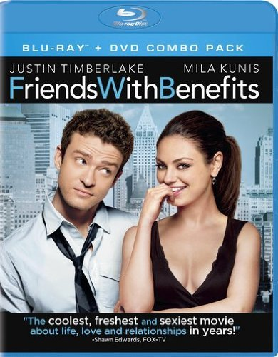Friends With Benefits Timberlake Kunis Blu Ray Ws R Incl. DVD