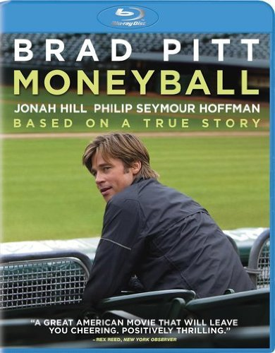 Moneyball Pitt Hill Hoffman Wright Blu Ray Aws Pg13