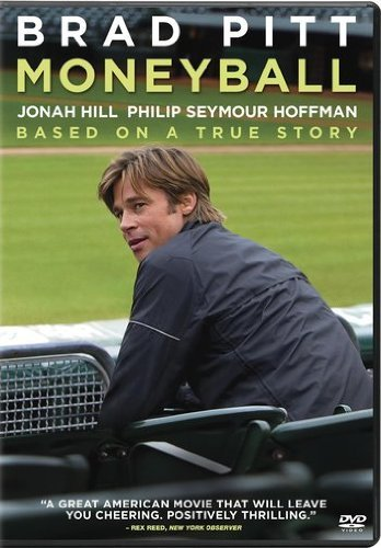 Moneyball Pitt Hill Hoffman Wright DVD Pg13 Ws