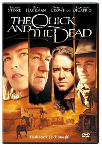 Quick & The Dead Stone Hackman Crowe Dicaprio DVD R