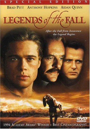 Legends Of The Fall Pitt Ormand Hopkins DVD R Ws