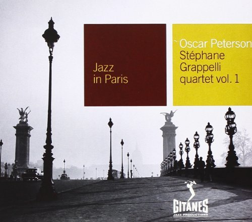 Peterson Grappelli Quartet Oscar Peterson Stephane Grappe Jazz In Paris