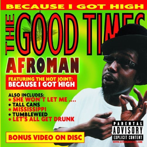 Afroman Good Times Explicit Version Enhanced CD