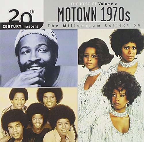 Millennium Collection Vol. 2 Best Of Motown 1970s Temptations Gaye Star James Millennium Collection