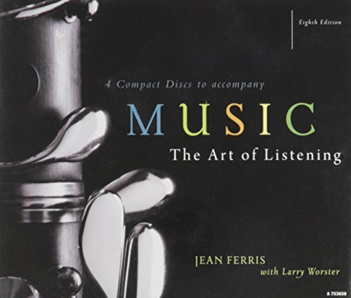 Ferris Jean Art Of Listening 4 CD Set For Use With Music