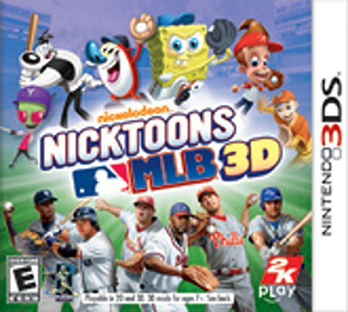 Nintendo 3ds Nicktoons Mlb 3d