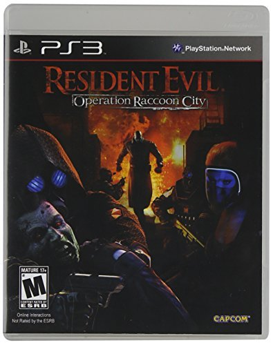 Ps3 Resident Evil Operation Racco Capcom U.S.A. Inc. M