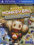 Playstation Vita Super Monkey Ball Banana Split Sega Of America Inc. E