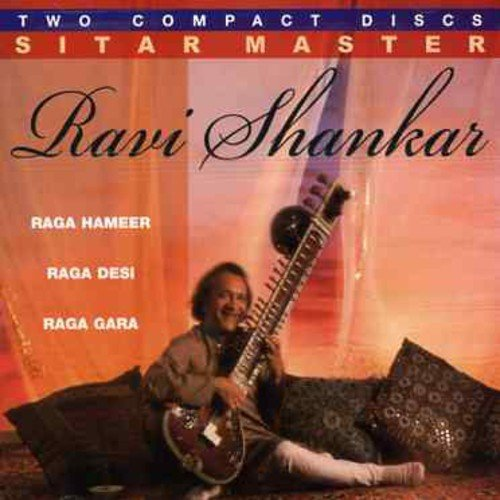 Ravi Shankar Sitar Master Import Eu 2 CD Set