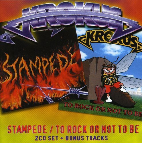 Krokus Stampede To Rock Or Not To Be 2 CD Set Incl. Bonus Tracks