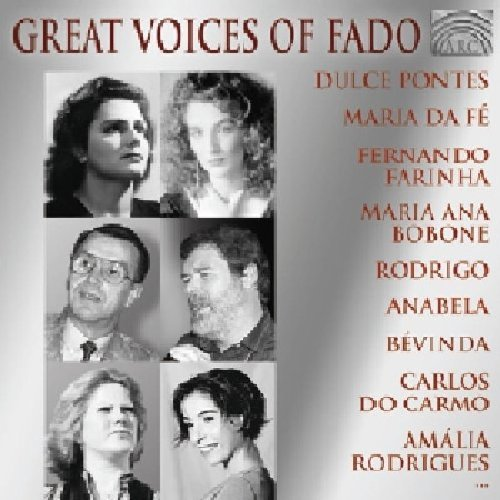 Great Voices Of Fado Great Voices Of Fado Import Gbr