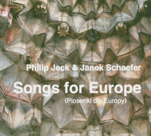 Jeck Schaefer Songs For Europe
