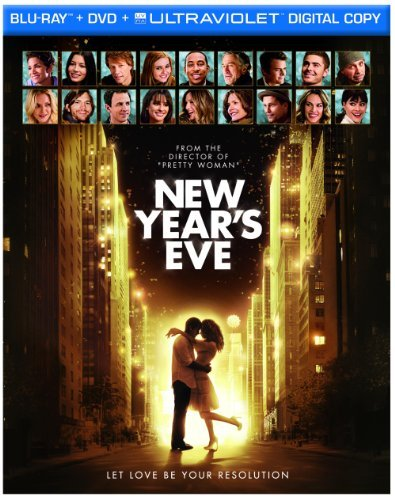 New Year's Eve Berry Biel Breslin Blu Ray Ws 2 Side Pg13 Incl. DVD Uv
