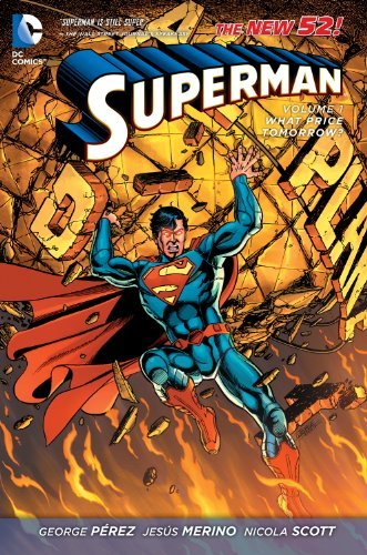 George Perez Superman What Price Tomorrow?