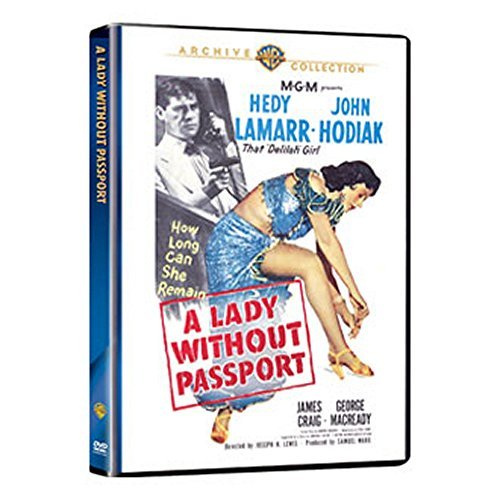 Lady Without A Passport Lamarr Hodiak Craig Macready Bw DVD R Nr