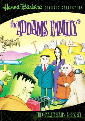 Addams Family Animated Comple Addams Family Animated DVD Mod This Item Is Made On Demand Could Take 2 3 Weeks For Delivery