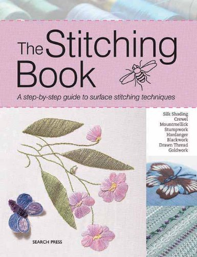 Patricia Bage The Stitching Book A Step By Step Guide To Surface Stitching Techniq