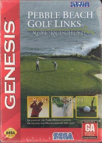 Sega Genesis Pebble Beach Golf Links