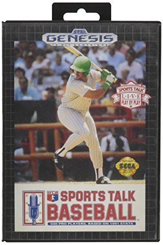Sega Genesis Sports Talk Baseball
