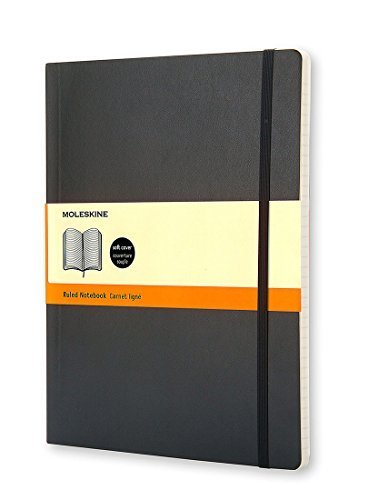 Moleskine Moleskine Ruled Notebook Soft Cover Xlarge