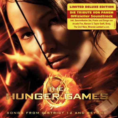 Hunger Games Songs From Distr Soundtrack Deluxe Ed. Incl. Trading Cards Soundtrack