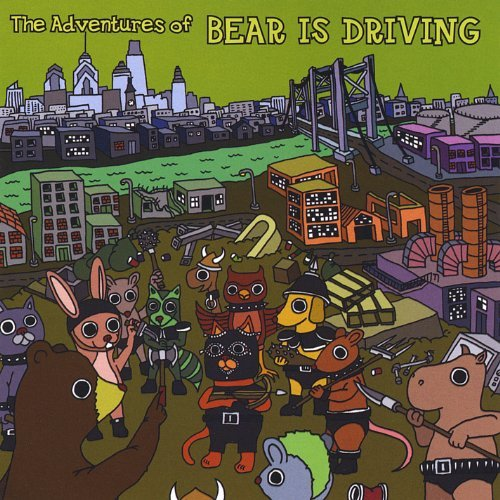 Bear Is Driving Adventures Of